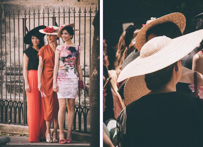 Fotos de la invitadas a la boda