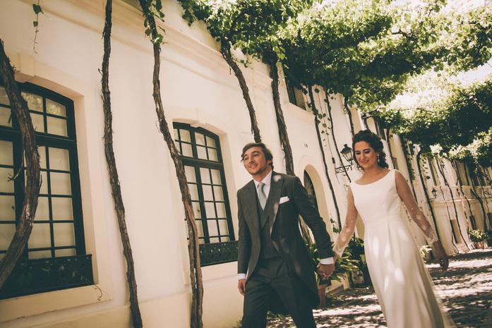 Foto de boda en gonzalez byass en jerez