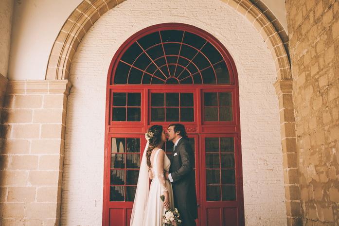 Detalle del reportaje de la boda en jerez