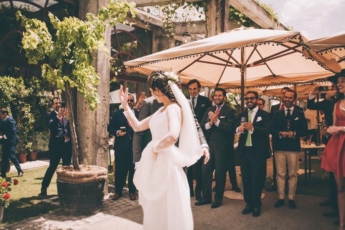 La novia baila en el banquete