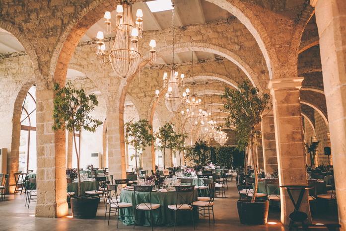 foto de banquete en Bodegas gonzalez byass