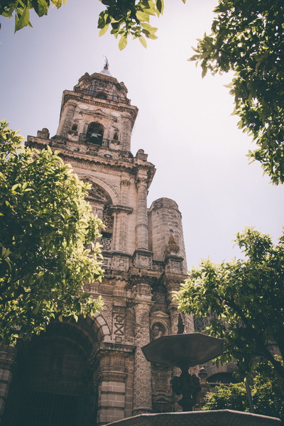 Foto de la iglesia San Miguel en jerez de la frontera