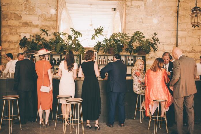 la barra libre de la boda
