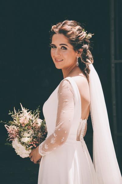 Retrato de Paloma antes de su boda